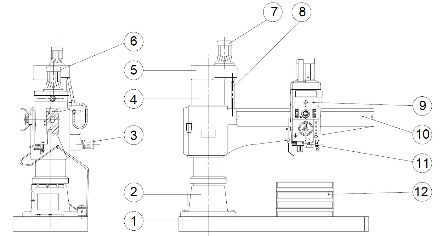 Что такое шпиндель сверлильного станка