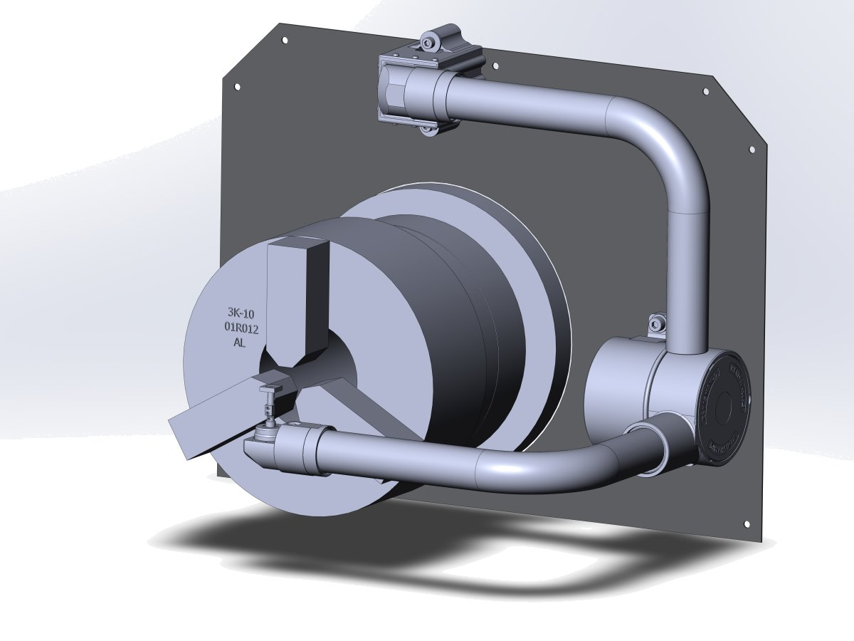 Установка руки измерения инструмента на токарный с ЧПУ